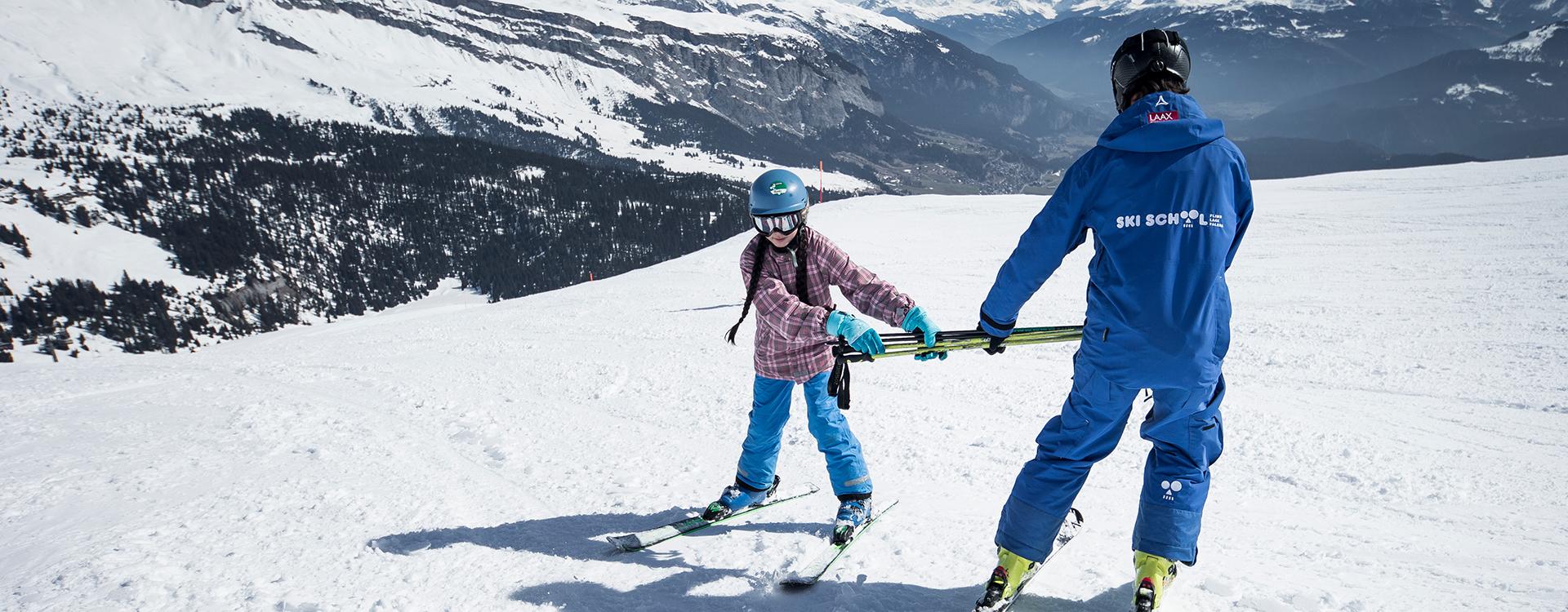Skifahren lernen in fünf schritten zum sicheren schwung